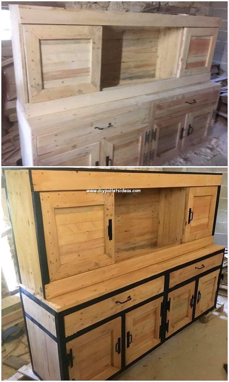 Pallet Cabinet or Cupboard