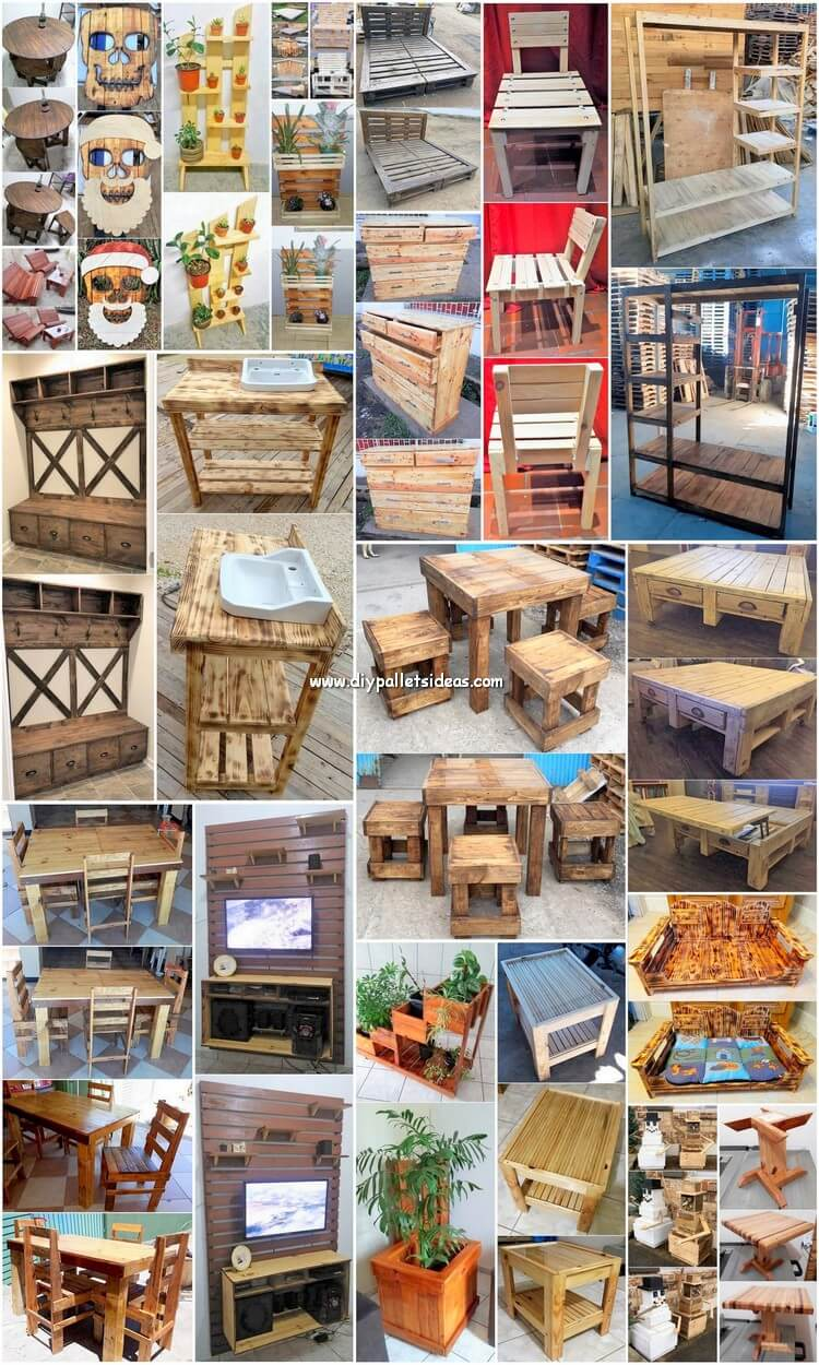 The Best DIY Wood Pallet Ideas and Projects