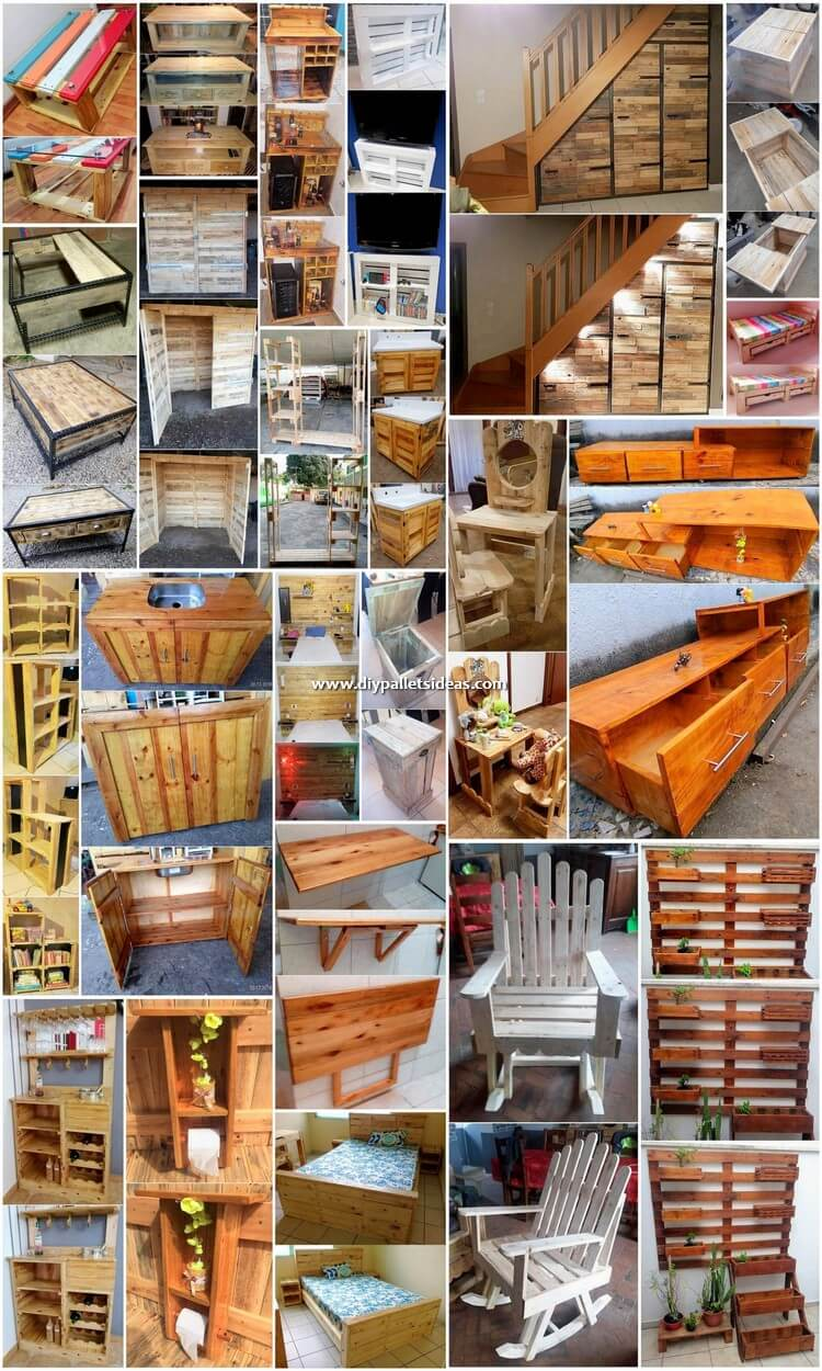 Impressive DIY Pallet Ideas for Your Home Renovation