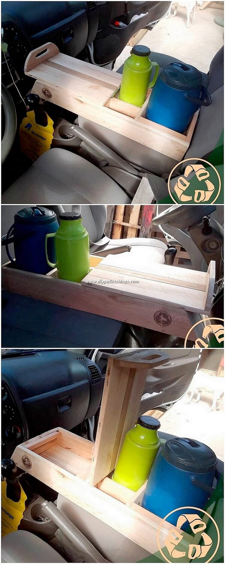 Pallet Cup Holder for Car