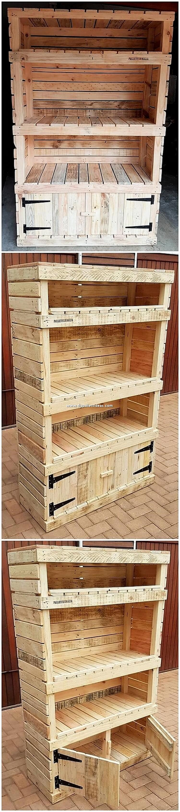 Pallet Shelving Cabinet or Cupboard