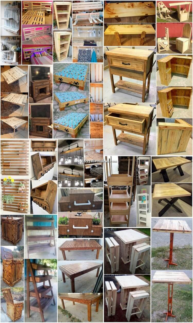 Useful DIY Pallet Ideas For a Refreshing Spring