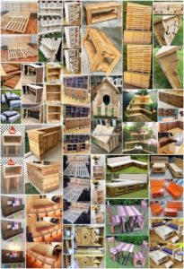 25+ Heart Touching Creations with Recycled Pallets