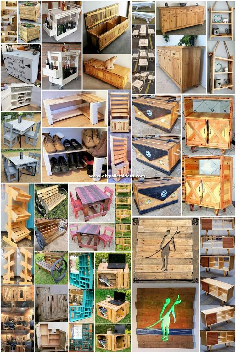 Creative Tips to Reuse Scraped Wood Pallets