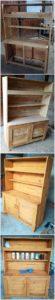 DIY Pallet Cupboard or Cabinet