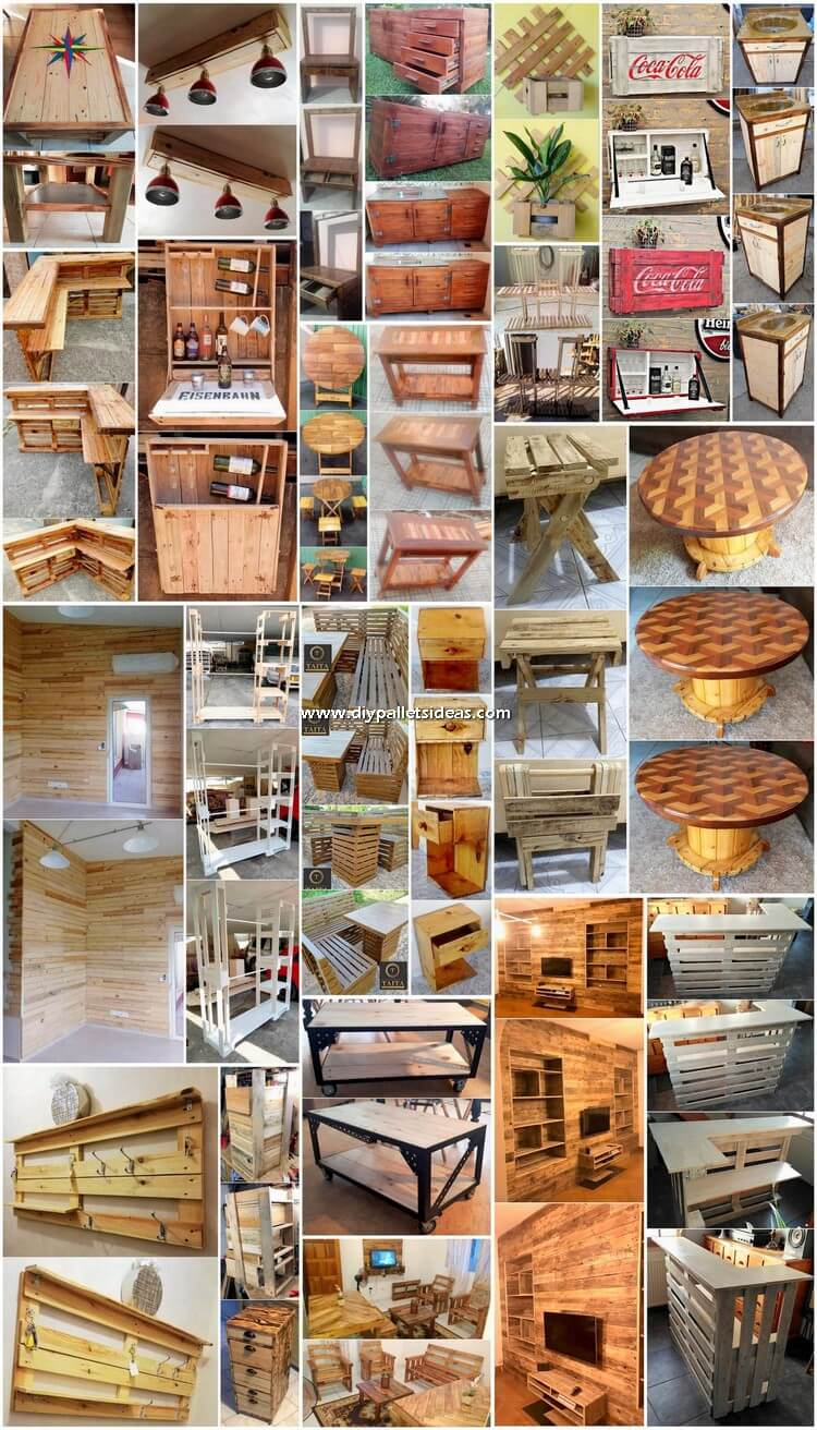 Fantastic Looking DIY Pallet Ideas and Projects