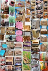 Imaginative DIY Ideas with Recycled Pallets