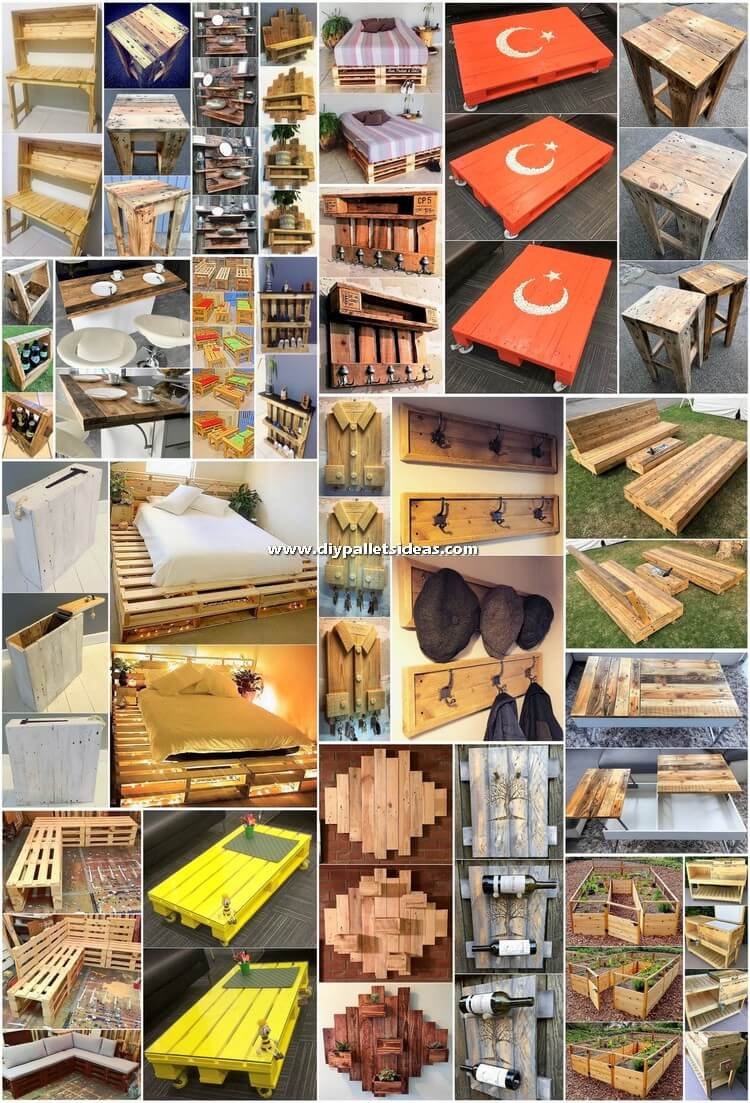 Make Some Fabulous Things with Recycled Pallets