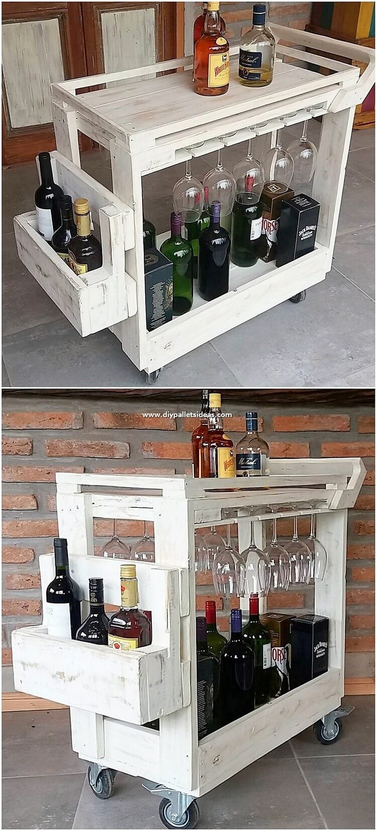 Pallet Bar Table