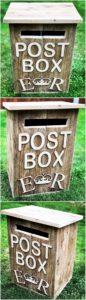 Pallet Mailbox or Post Box