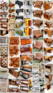 Smart and Creative DIY Wood Pallet Ideas