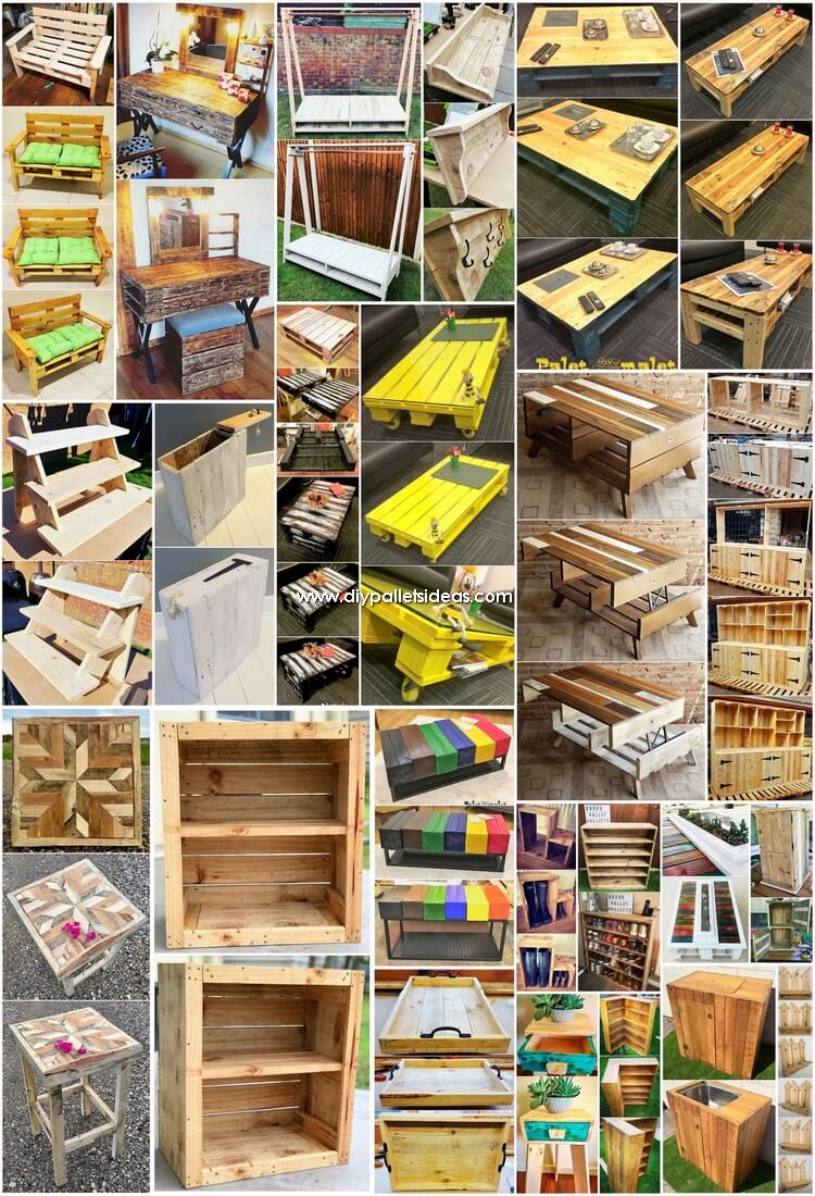 What Can You Make with Recycled Pallets