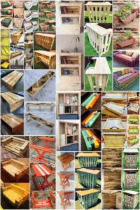 Wonderful Creations Made with Recycled Pallets