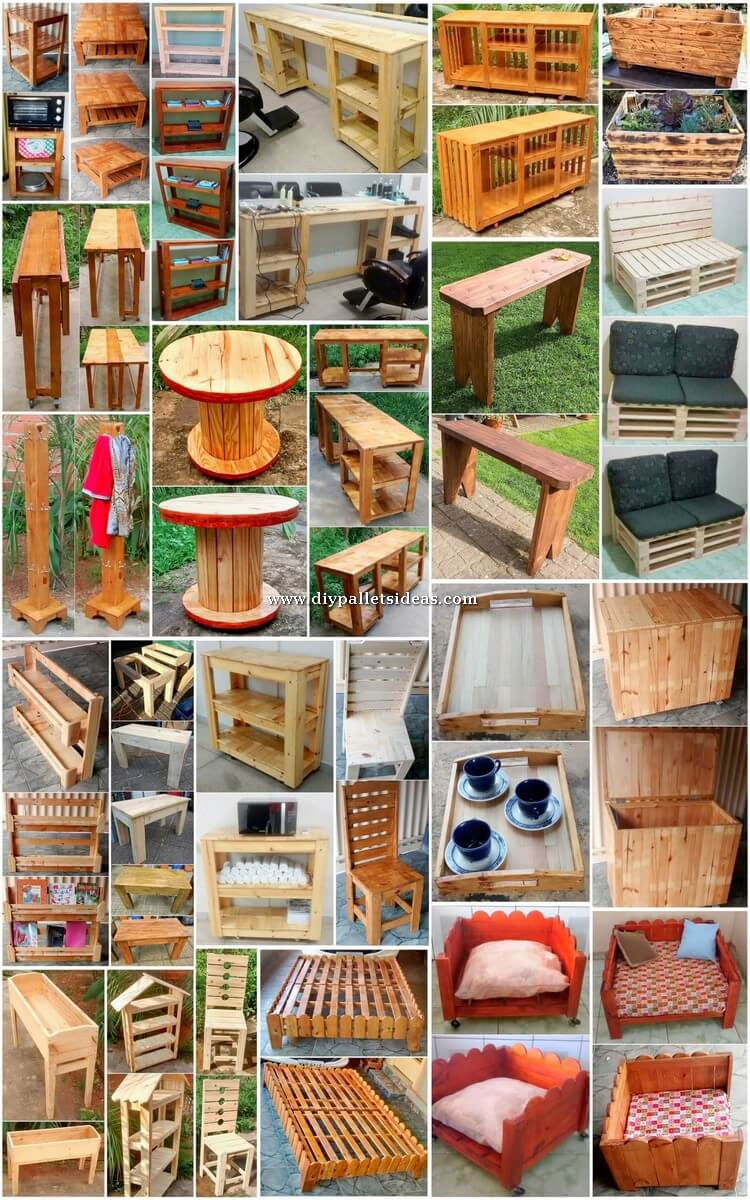 Cheap and Easy to Build DIY Wood Pallet Ideas