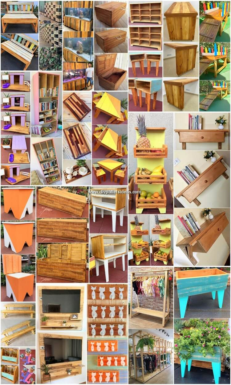 DIY Projects and Crafting Ideas with Recycled Pallets