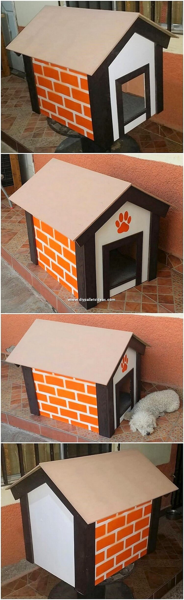 Pallet Dog Pet House