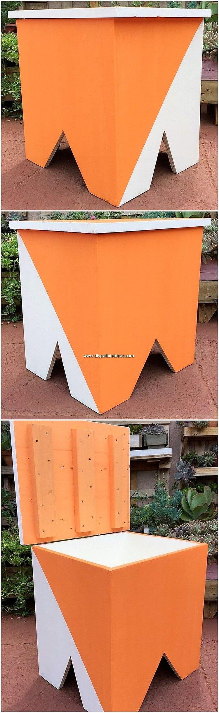 Pallet Mini Storage Box