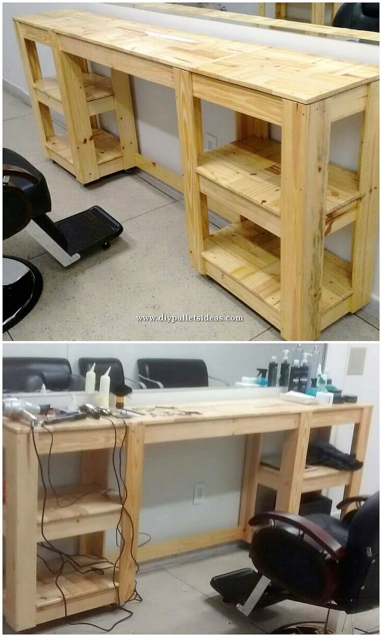 Pallet Office Desk Table