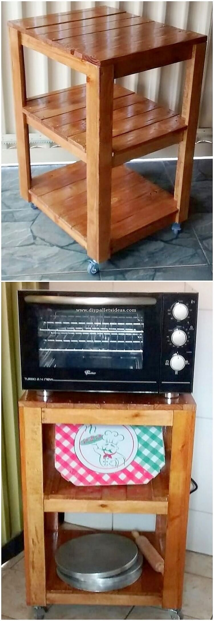 Pallet Oven Stand or Table
