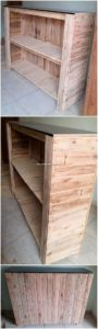 Pallet Shelving Counter or Cabinet