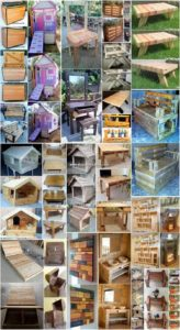 Unbelievable DIY Ideas for Wooden Pallet Recycling