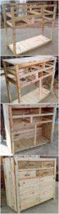 DIY Wood Pallet Cabinet