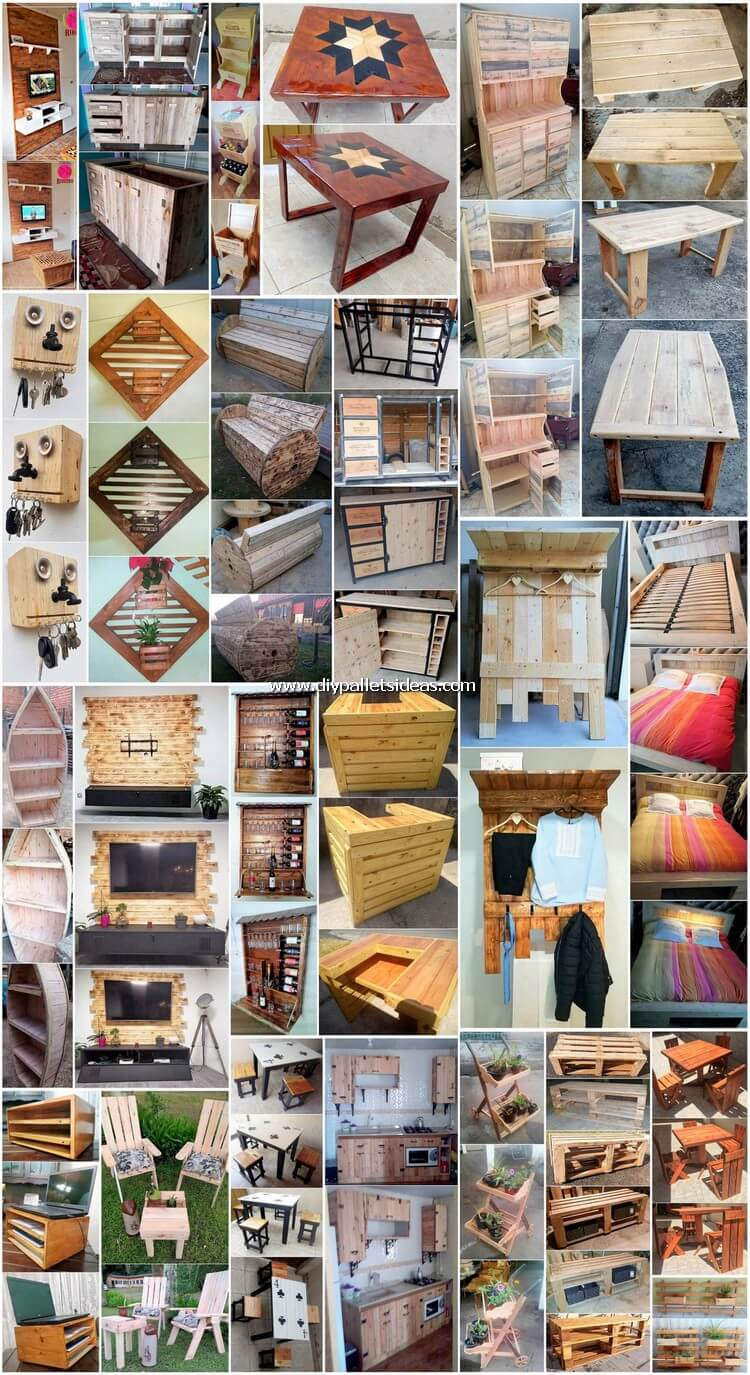 Easy Ways to Build Pallet Creations - DIY Projects