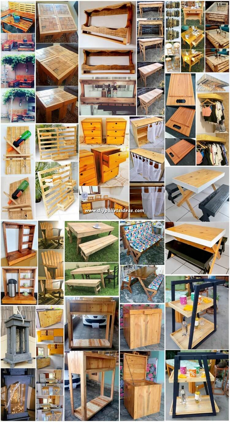 Ingenious DIY Ideas for Reusing Scraped Wood Pallets