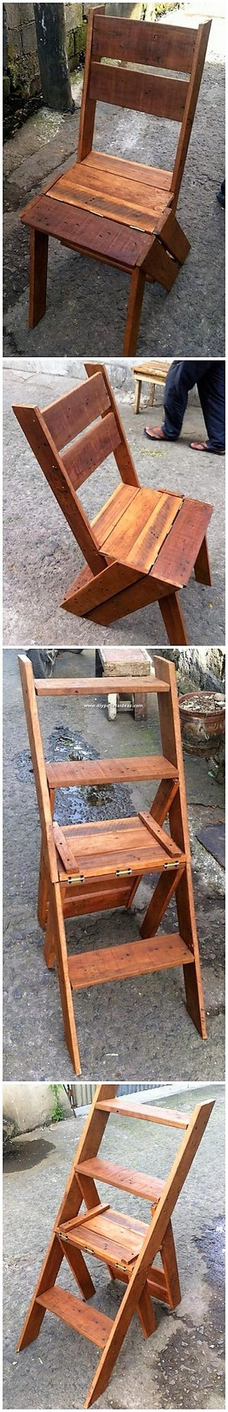 Pallet Chair or Convertible Stair