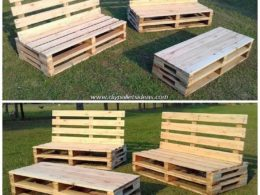 Marvelous DIY Ideas for Old Wood Pallets Reusing