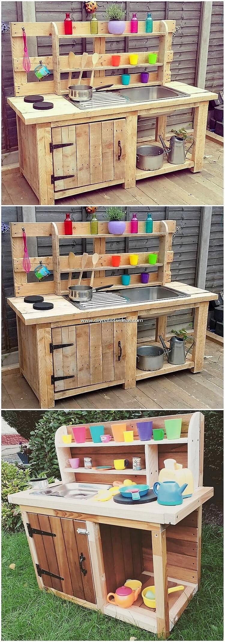 Pallet Potting Cabinet