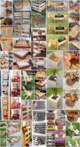 Easy and Simple DIY Wood Pallet Crafting Ideas
