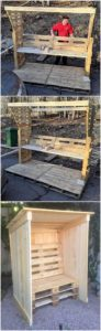 Pallet Enclosed Seating