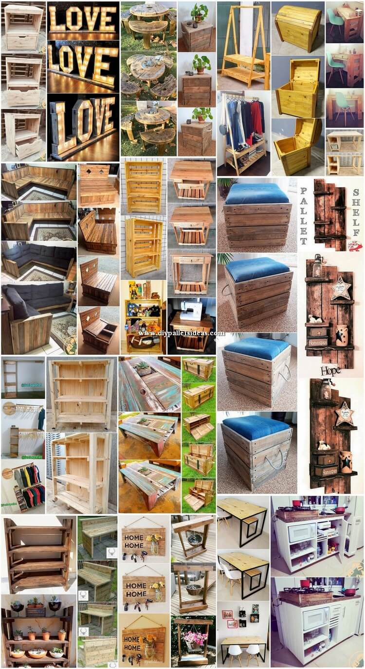Superb and Attractive Ideas with Shipping Pallets