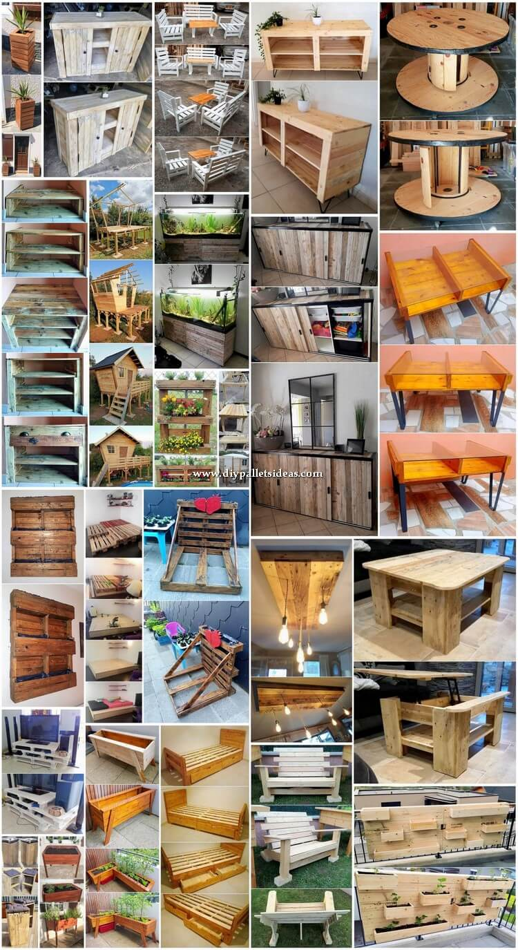 Superb and Cheap Wood Shipping Pallet Projects